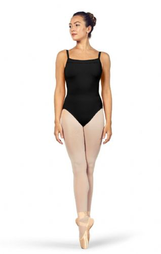 Bloch Ladies/Tween Dance Scoop Neckline Camisole Leotard Ladder Trim L4957 Black